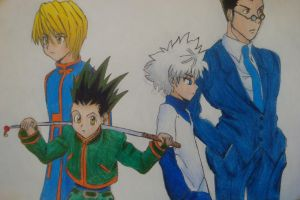 Hunter X Hunter 2011 by Highway3