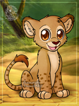 [Commission] Lion cub by Veemonsito