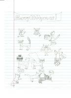 Xmas 2011: Cat Version by QueenLioness7