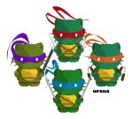TMNT Kittens by rancid1881