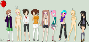Short OC's! .:Collab FULL:. by animelover876