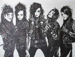 Black Veil Brides by youbesonicimtails