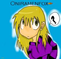 Oniramenfoxrequest by dffd