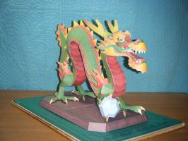 Chinese Luck Dragon Statue 11 by devastator006