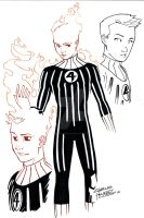 Fantastic Four Human Torch by KidNotorious