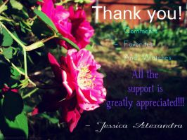 Thank you all soo much! by Bickhamsarah