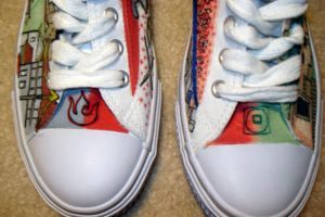 Avatar Shoes by coldflame2525