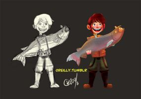 Fisherboy by orlyoreilly