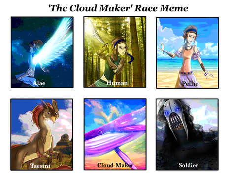 TCM: Race Meme by LivingAliveCreator