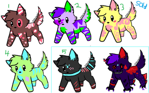 PUPPY ADOPTS! OPEN by spottedtail223