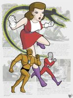 Doom Patrol by retrorobotboy