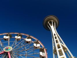 space needle by crazytmac