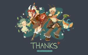RO Wallpaper: Thank You by ashiong
