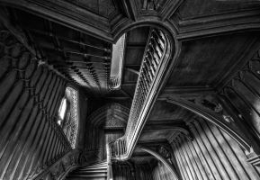 Harriet's Staircase by AdrianSadlier