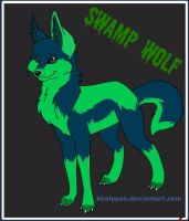 Swamp Wolf by ResidentShockHound