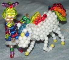 Bead RainbowBrite and Starlite by Anabiyeni