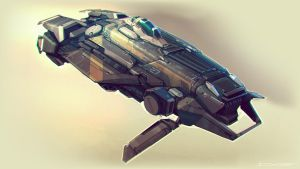 QR Racer concept 03 by Talros