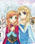 Cold Winter, warm Hearts by Yenni-Vu