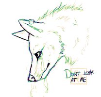 Don't look at me by StupidRainbowFox