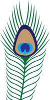Peacock Feather by Ravenhart