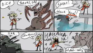 Legacy of Kain, doodles 24 by Ayej