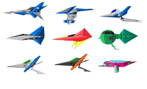 Star Figther 2 Sprites by sudro