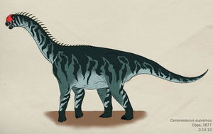 014--CAMARASAURUS SUPREMUS by Green-Mamba
