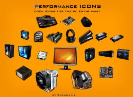 Performance Dock Icons by iamthewizard2