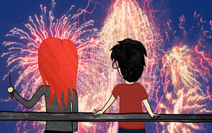 Fireworks Between Us by ThatWasTough