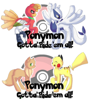 Ponymon Prints by PikaIsCool