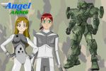 Angel Arms preview by Dangerman-1973
