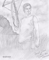 Daryl Dixon (Norman Reedus)  -TWD by cahrolzit