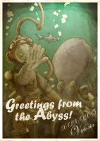 GREETINGS FROM THE ABYSS by Sduefy