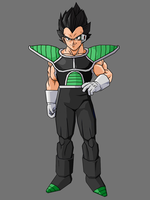 Royal Vegeta By KingCrackRock by kingcrackrock