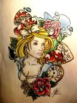 Alice~ by MartaCmTattoos
