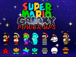 Super Mario Galaxy Power-Ups by jdunning619