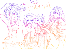 FAIRY TAIL AS BLACK LAGOON! by Grilledbird