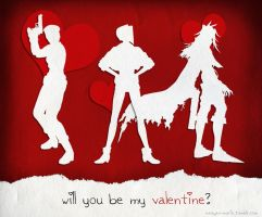 Will You Be My Valentine? by Meagan-Marie