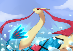 Milotic by Keatone