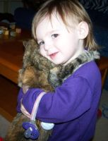 Hugging My Kitty by Thora-T