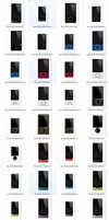 57 Zune Player PNG's by Legacy-Code