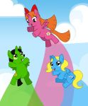Powerpuff Ponies by Agirl3003