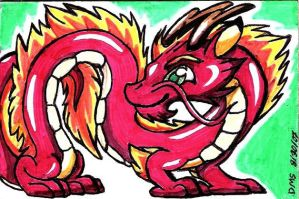 Sticker board 2:Chinese dragon by Smithy9