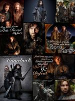 Kili and Fili Collage by NewGenerationArt7