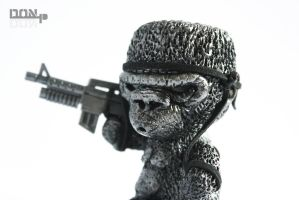 Soldier Ape: Agresso by PatrickL
