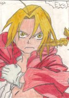 Edward Elric from FMA by FrenzyAtDaClub911