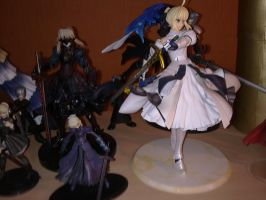Fate Stay night figures by aeris5312