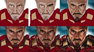 Iron Man Stages by littlesusie2006