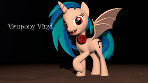 [DL] Vinyl the Vampony by Legoguy9875