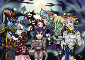 Contest Entry - Happy Halloween 2014 by GhostTitan
